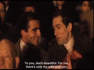 Для тебя красивая, а для меня существует только жена и сын (Крестный отец 2/ The Godfather- Part II)