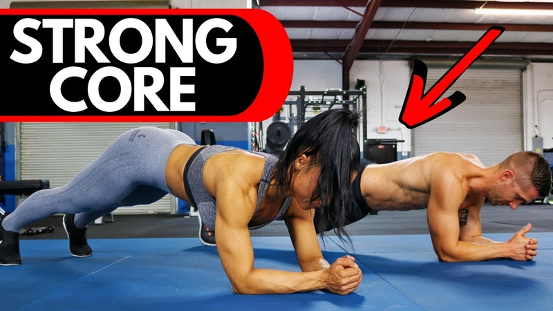 3 Minute PLANK Workout Isometric CORE Exercises for ROCK Solid Abs