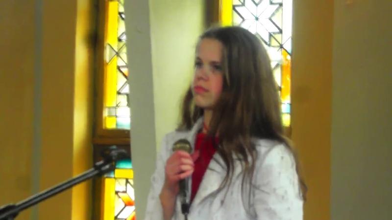 Туманы поёт Оля Гвоздовская 14 лет провинциальная девочка