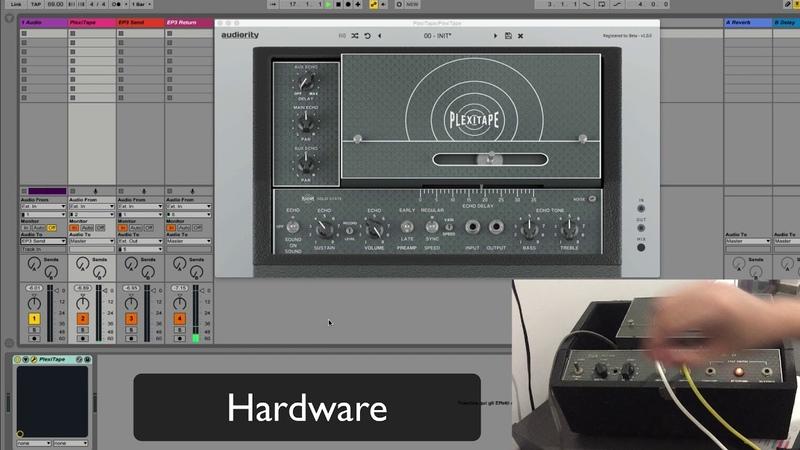 Audiority PlexiTape vs Real Echoplex EP-3