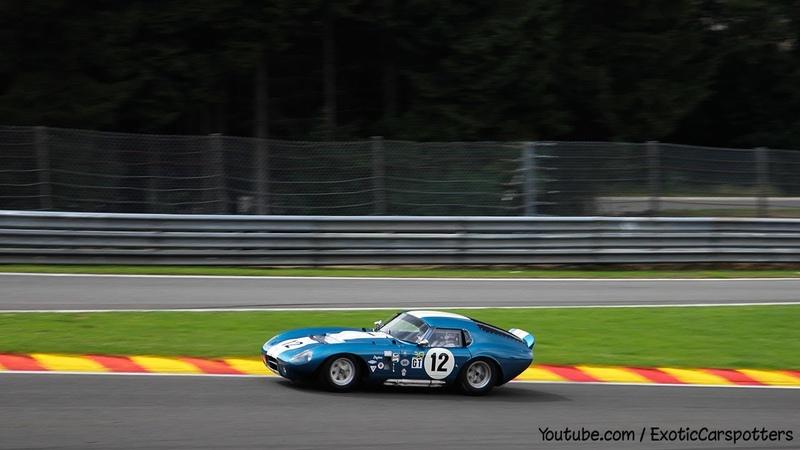 Shelby Daytona Cobra Coupe on Track LOUD Revs Crazy Fly By s Downshifts 1080p HD