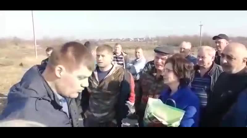 Протест против строительства мусоросжигательного завода в Глубоком под Армавиром