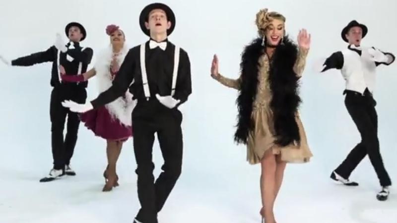 Шоу балет в стиле 20-х, 30-х, 40-х на свадьбу, корпоратив, вечеринку, праздник - Чарльстон