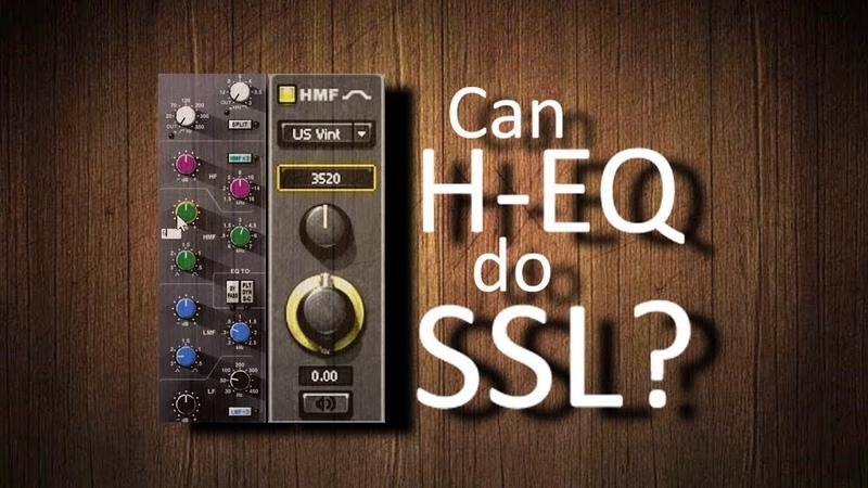 Can Waves Hybrid EQ do SSL? We found one band!