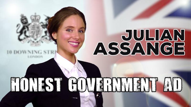 Honest Government Ad Julian Assange