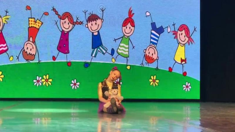 Circus Studio Romantics gymnastic composition harmful girl Sluka Vasilina