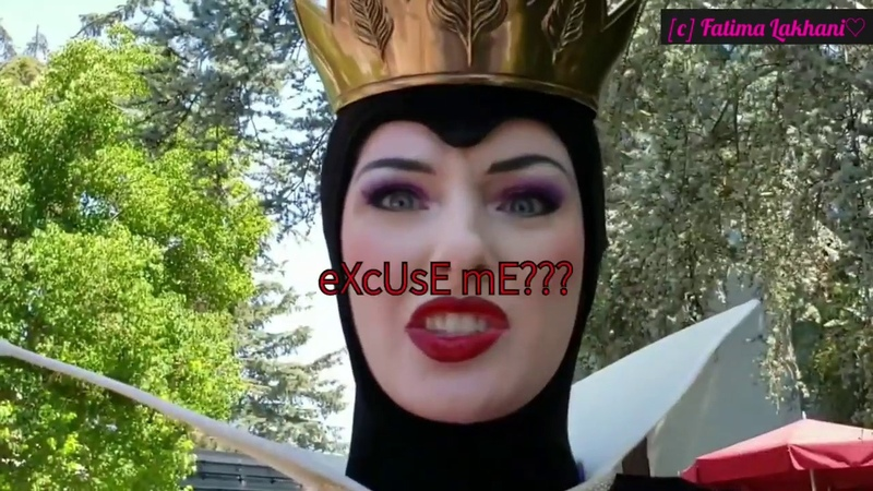 The Evil Queen of Disneyland being herself for 4 minutes straight