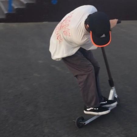"Роман Краснов on Instagram ""my sponsor @trustscooters • 📹 @_rypolovskiy_ • trustscooters scootering scootergang jawnsondeck scootplug skatep..."