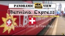 The Bernina Express World's Most Beautiful Train's Panoramic Highlights