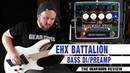 ELECTRO HARMONIX Battalion Bass DI Preamp The Gear Gods Review