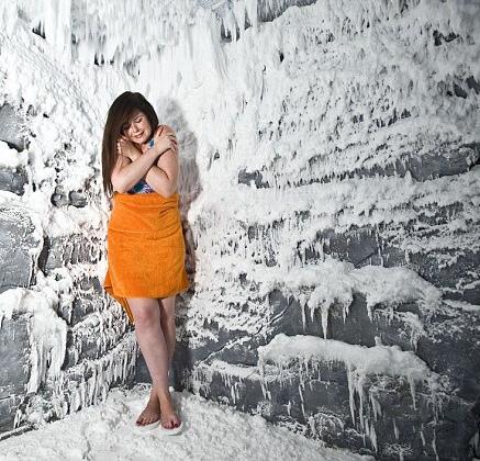 Снежная комната Laguna