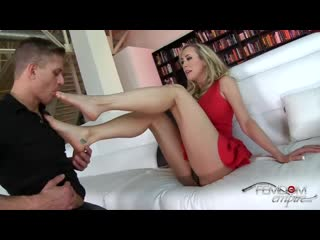 Brandi Love - Foot fetish for Femdom Empire [femdom, strapon, facesitting, куни, минет, страпон, pegging]