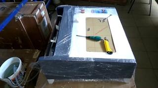 Как лучше установить лазерную трубку CO2 How do I put laser tubes to let air out