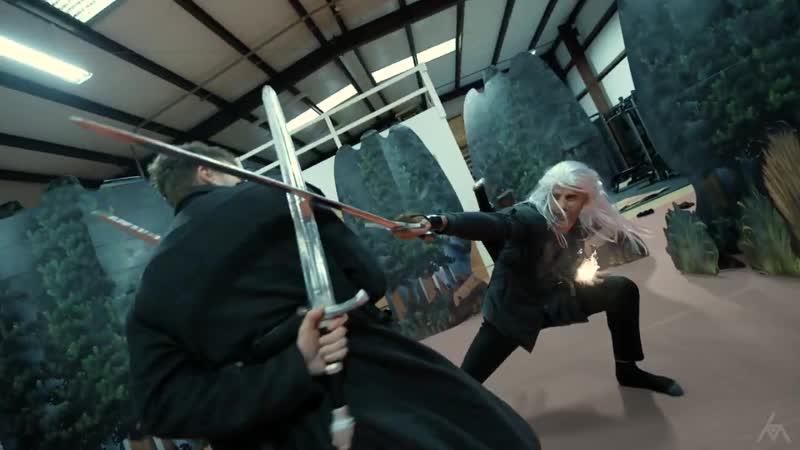 THE WITCHER Fight Scene Stunt Tribute