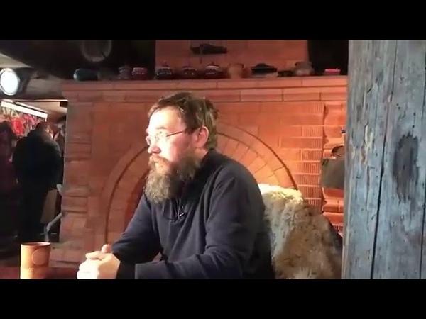 Интервью Стерлингова на тему измены. Так написано в священном писании