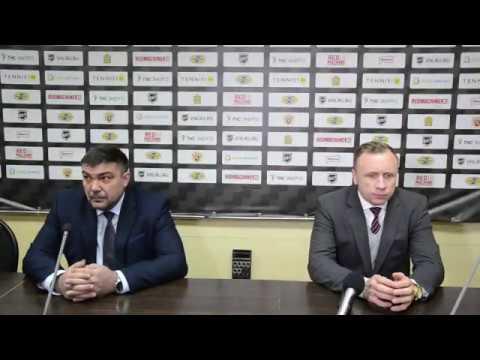 Пресс конференция Дизель Пенза Рубин Тюмень