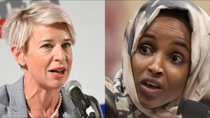 YOURE ANTI-AMERICAN! FURIOUS KATIE HOPKINS EXPLODES ON ILHAN OMAR | SHE COULDNT BELIEVE HER EYES