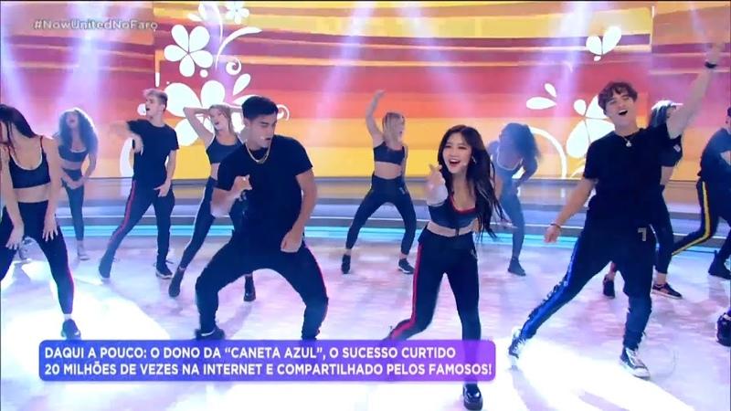 Now United agita plateia do Hora do Faro com mais um sucesso