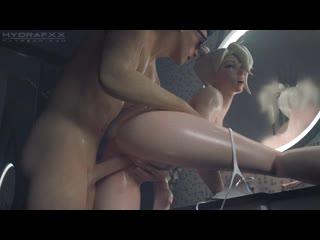 Mercy bathroom ( short sfm porn animation with sound overwatch anal vaginal sex pornhub rule 34 )