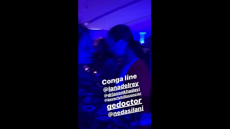 4 августа 2019 Лана на вечеринке в отеле Andaz West Hollywood по случаю Дня рождения Эхсана Али