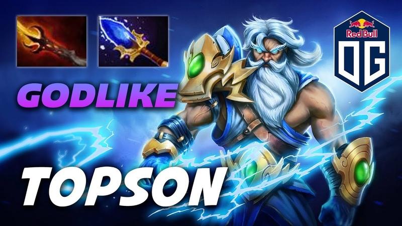 TOPSON ZEUS GODLIKE - Dota 2 Pro Gameplay [Watch Learn]