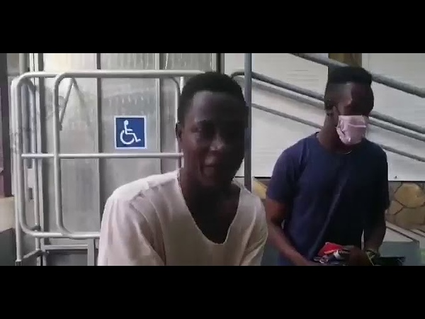 В студента из Нигерии брызнули из газового баллончика
