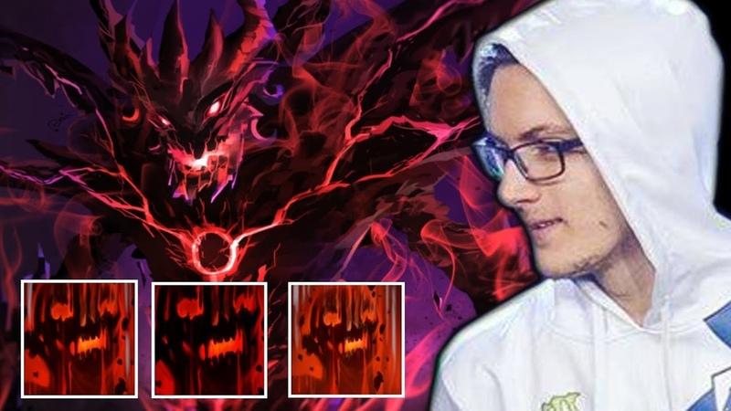 MIRACLE Shadow Fiend — Amazing Raze destroy Midlane easily Dota 2