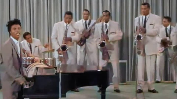 LITTLE RICHARD LONG TALL SALLY TUTTI FRUTTI 1956 in colourThe video he