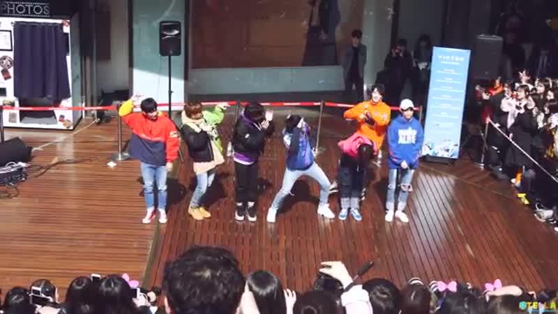 180311 빅톤(VICTON) - 고민보다 GO(GOGO) BTS Cover dance - 동대문 버스킹(Busking)