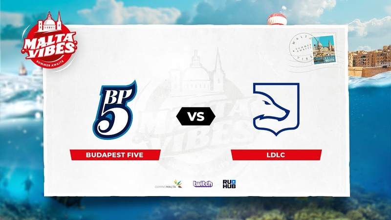 Budapest Five vs LDLC Malta Vibes map3 de train Anishared