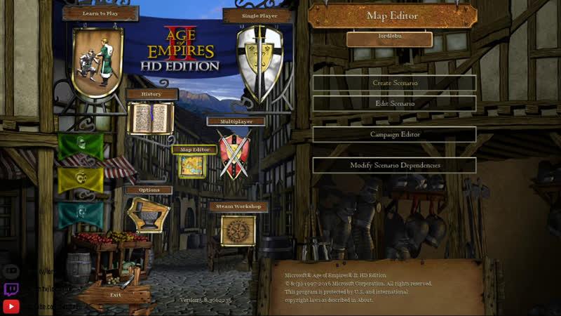 Working on RamMandir ️ in Age of Empires
