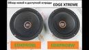 Новые эстрадные 20 см динамики EDGE XTREME EDXPRO8L 8W одни из лучших в цене до 5000 руб