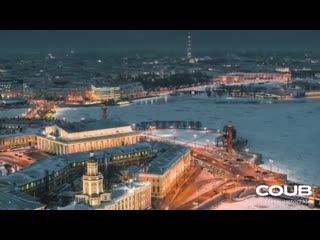 Волшебный зимний Петербург
