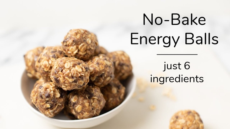 NO BAKE OATMEAL ENERGY BALLS just 6 ingredients