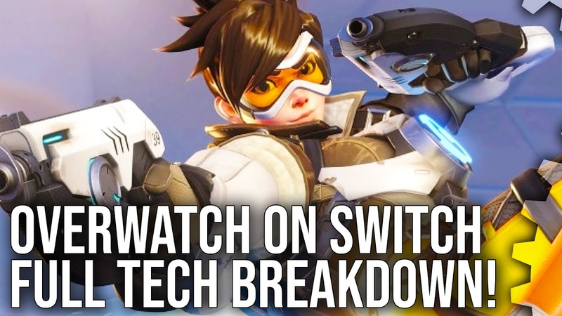 Overwatch: Switch vs PS4/Xbox One Graphics Comparison Frame-Rate Test!