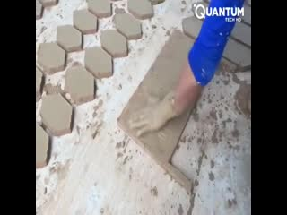 Ручное производство плитки