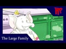 Cbeebies The Large Family Flour Power