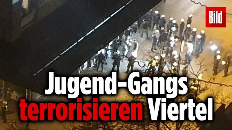 Kriminelle Jugend Gangs sorgen in Köln für Angst und Schrecken