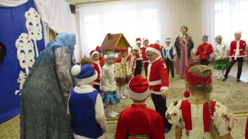 мастер класс в 378 детском саду Русское чудо сибирские валенки 0353