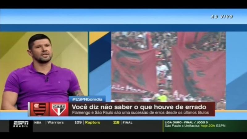 ESPN Bom dia Fabio Luciano afirma que Abel se fritou sozinho e detona jornalista carioca