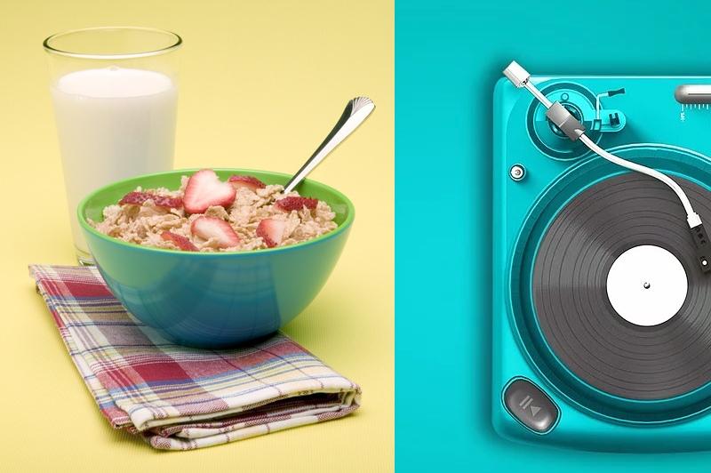 Что послушать во время еды
