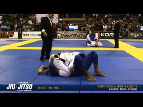 Erberth Santos Vs Andre Galvao - European Open 2015