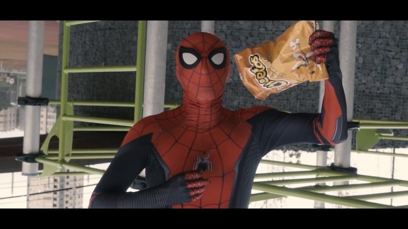 Spider-man parkour (Cheetos)