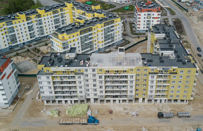 Отчет о ходе строительства ЖК «Апрель» май 2020, изображение №11