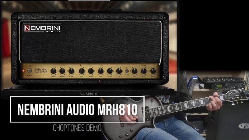 Nembrini Audio MRH810 | Playthrough Demo (Marshall JCM800 2210)