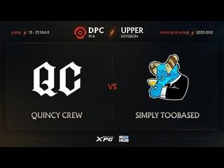 Quincy Crew vs simply TOOBASED, Dota Pro Circuit 2021 NA S2, bo3, game 1 [Mila & CrystalMay]