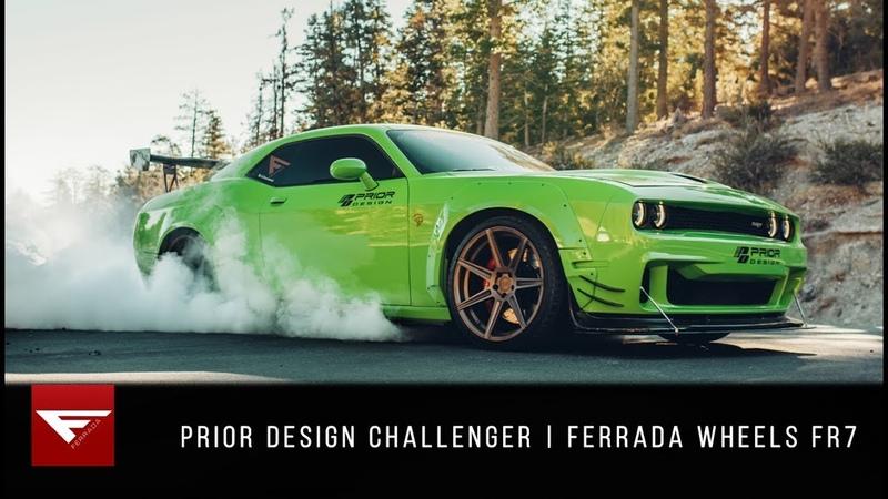 Ferrada Wheels FR7 | NEW FINISH *MATTE BRONZE* | Dodge Challenger Prior Design Widebody