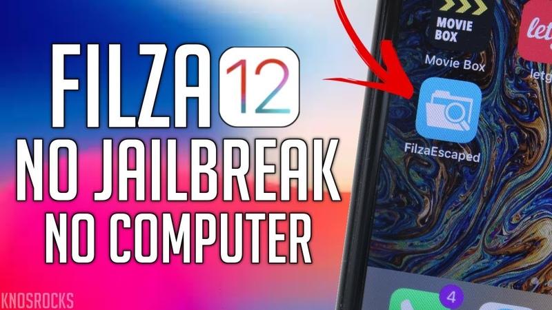 NEW Install FilzaEscape12 Get ROOT Access iOS 12 - 12.1.2 No Jailbreak / PC A9 - A12 iPhone iPad