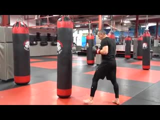 Kickboxing Classes All Ages - E3 Advanced Bag Training - Shihan R. Schulmann _ T