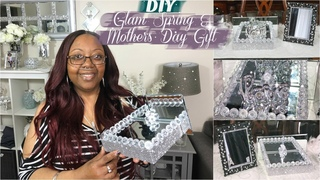 DIY DOLLAR TREE SPRING & MOTHERS DAY GIFT IDEAS | FT SUNBER HAIR UPDATE REVIEW | PLUS A CHIT CHAT